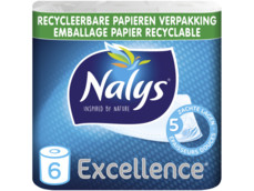 Excellence 5-laags maxi-vel 6 rol in papieren verpakking product foto