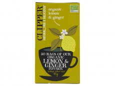 Organic lemon & ginger 1-kops product foto