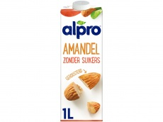 Amandel drink ongezoet houdbaar (lactosevrij) product foto