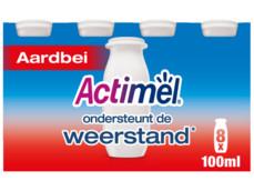 Actimel aardbei product foto