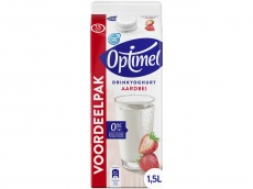 Drinkyoghurt aardbei product foto