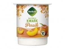 Halfvolle kwark perzik product foto