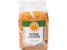 Rode linzen product foto