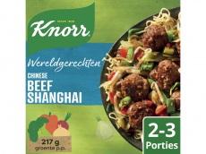 Wereldgerechten Chinese beef shanghai product foto