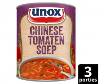 Soep in blik stevige Chinese tomatensoep product foto