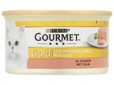 Gold fijne mousse met zalm product foto