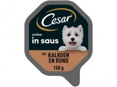 Cuisine kalkoen rund in saus product foto