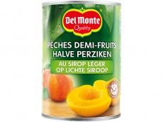 Halve perziken op siroop product foto