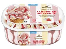 IJs aardbei meringue product foto