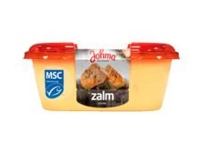 Zalmsalade product foto