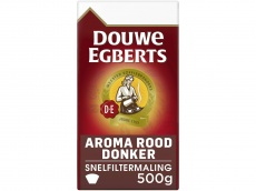 Aroma rood donker filterkoffie product foto