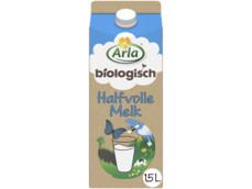 Biologische halfvolle melk 1,5l product foto