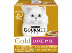Gold luxe mix pak 8 blikjes product foto