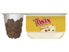 Twix yoghurt product foto