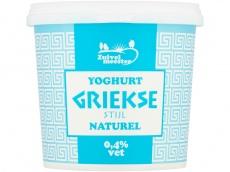 Yoghurt griekse stijl 0% vet product foto