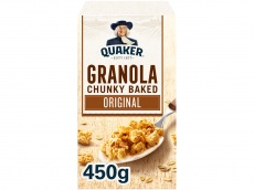 Havermout granola naturel product foto