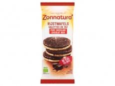 Rijstwafels puur chocolade product foto
