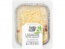 Lasagne met pittig gehakt product foto