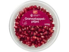 Granaatappel met pitjes product foto