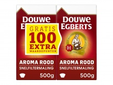 Aroma Rood dubbelpak filterkoffie product foto
