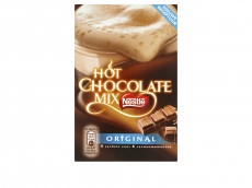 Hot chocolate mix product foto