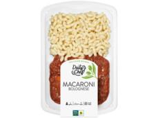 Macaroni bolognese product foto
