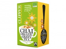 Organic green tea chai product foto