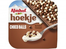 Hoekje choco balls yoghurt product foto