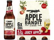 Juicy apple pak 6 flesjes product foto