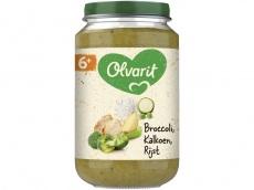 Broccoli kalkoen rijst 6+ mnd product foto