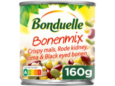 Bonenmix mais-kidney-eye bonen product foto