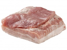 Pork belly product foto