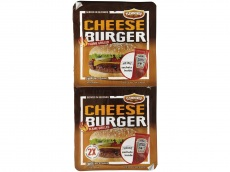 Broodje cheeseburger duo product foto