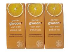 Sinaasappelsap product foto