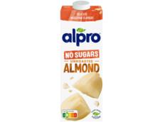 Amandeldrink zonder suikers ongeroosterd product foto