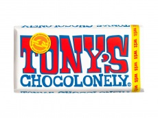 Chocolonely chocoladereep wit product foto