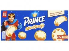 Mini stars white chocolate product foto