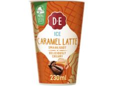 Ice caramel ijskoffie product foto