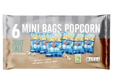 Multipack popcorn zout product foto