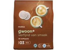 Koffiepads mokka product foto