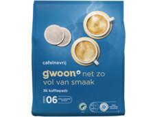 Koffiepads decafé product foto