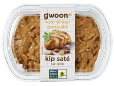 Kip-saté salade product foto