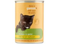 Brokjes in gelei kip & gevogelte adult kat product foto