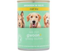 Brokjes in gelei kip hond product foto