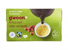Groene thee cranberry 20x2 product foto