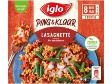 Lasagnette met sperziebonen product foto