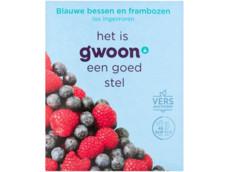 Blauwe bessen/framboos product foto