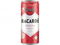 Bacardi & cola product foto