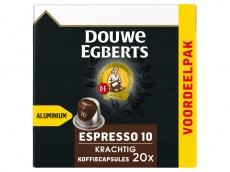 Espresso krachtig koffiecups voordeelpak product foto