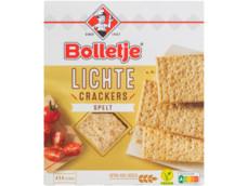 Lichte crackers spelt product foto